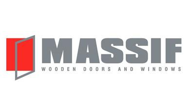 Massif Wooden Doors & Windows Logo
