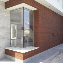 External Rampote Double Door With Wall Paneling