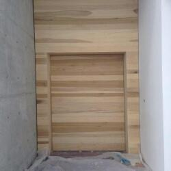 Pivot Door In Poplar Wood